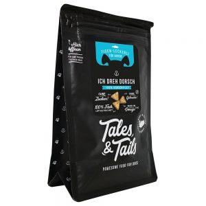 produkt_tales_and_tails_leckerli_dorsch_vorderseite_schraeg