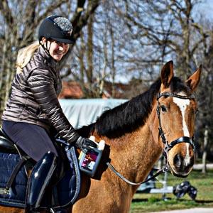 Kathi mit Ihrem Pferd